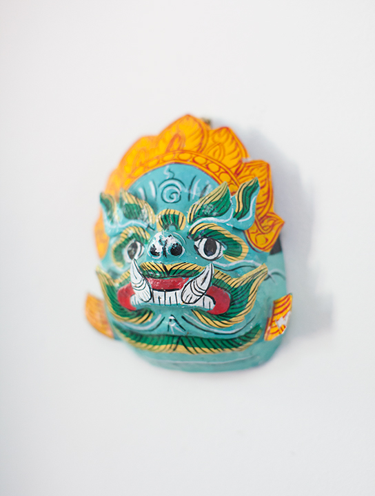 A mask from Cambodia