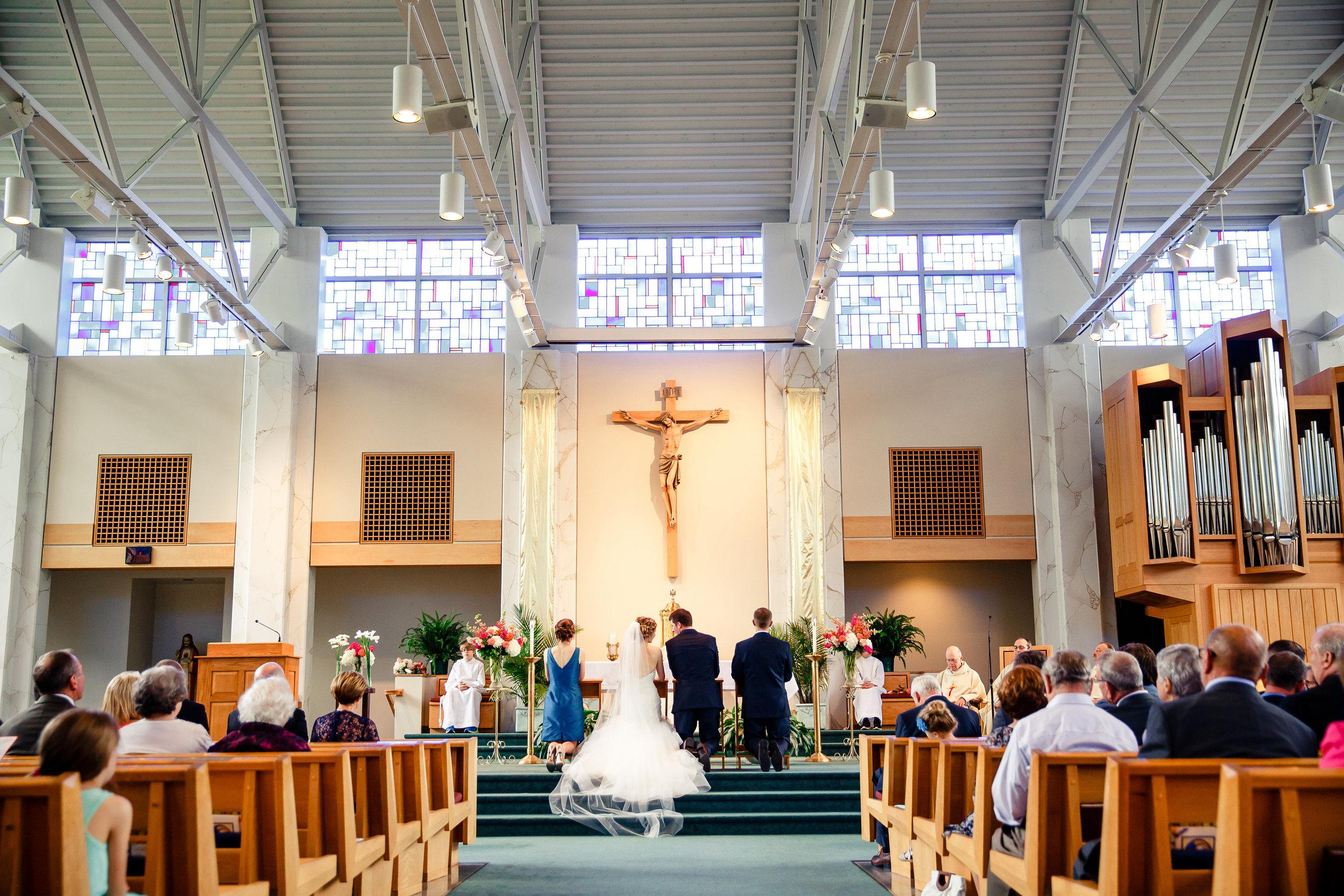 St. Louis Wedding Photographer Oldani Photography Our Lady of Providence Catholic Church 3.jpg