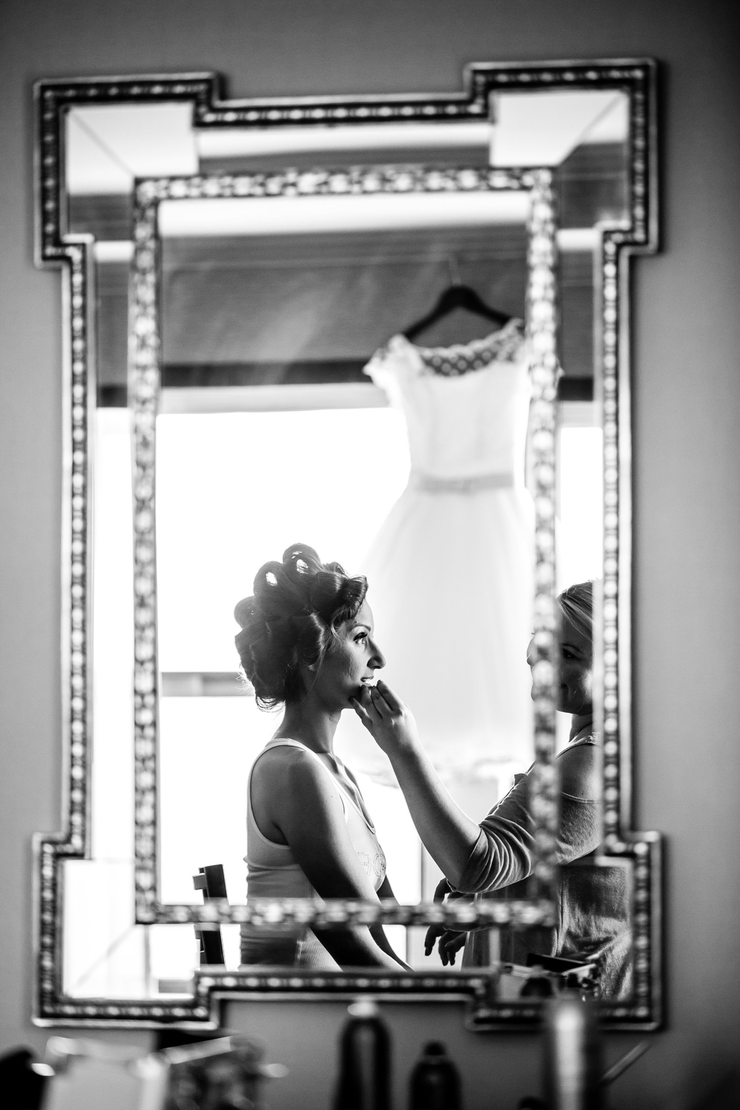 Bride Getting Ready at the Chase Park Plaza