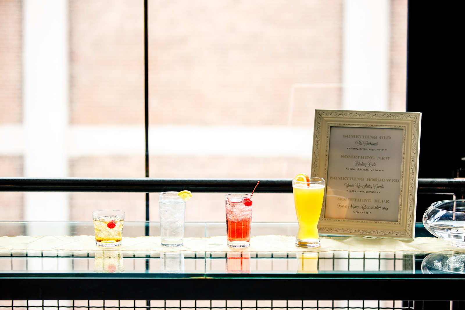 Signature Drinks Windows on Washington St Louis Wedding Photographers Oldani Photography.jpg