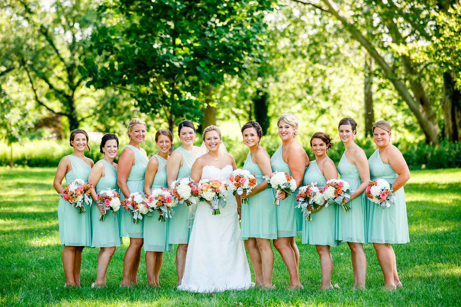 Forest Park Wedding Party Photos with St. Louis Wedding Photographers by Oldani Photography 1.jpg