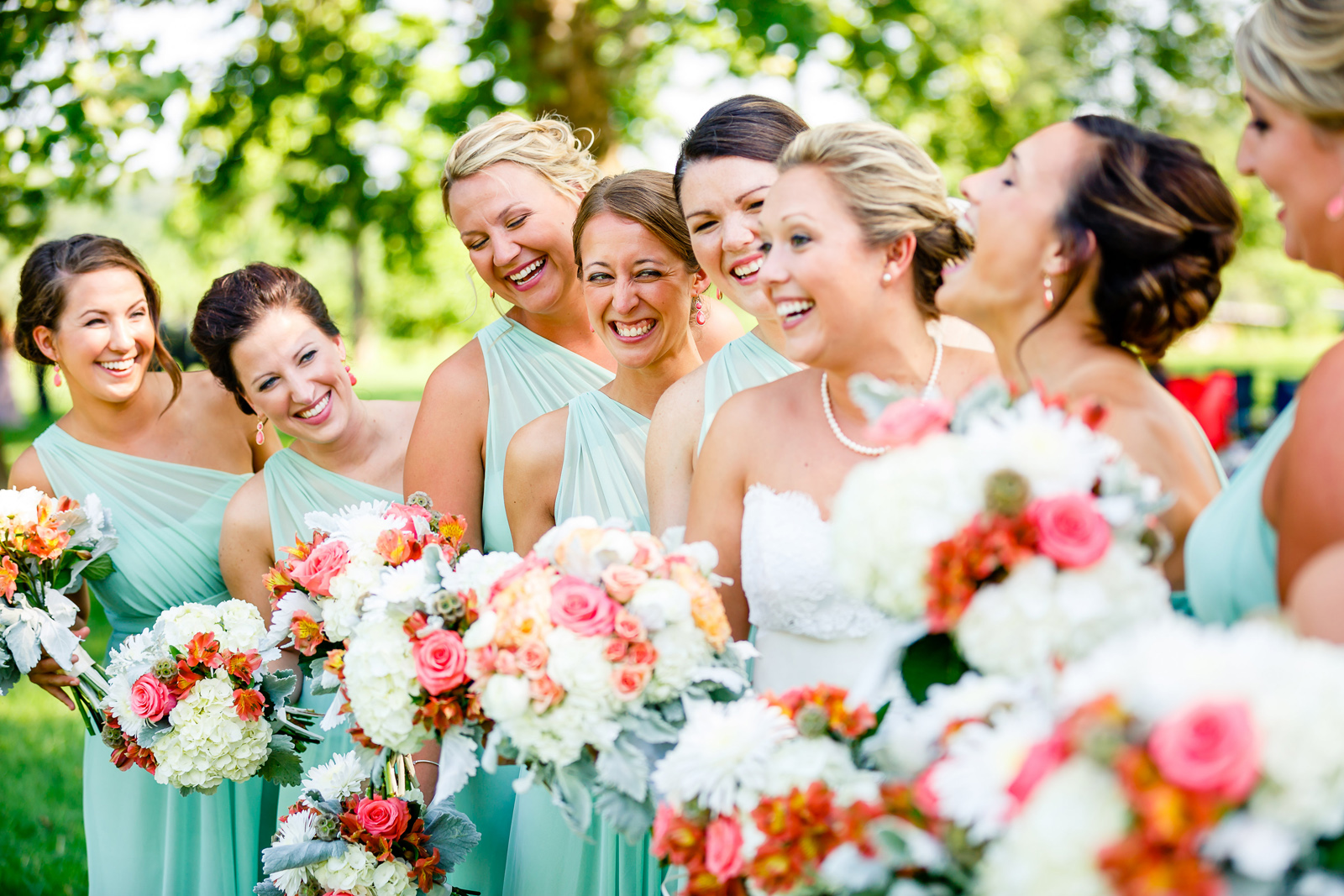 Forest Park Wedding Party Photos with St. Louis Wedding Photographers by Oldani Photography 2.jpg