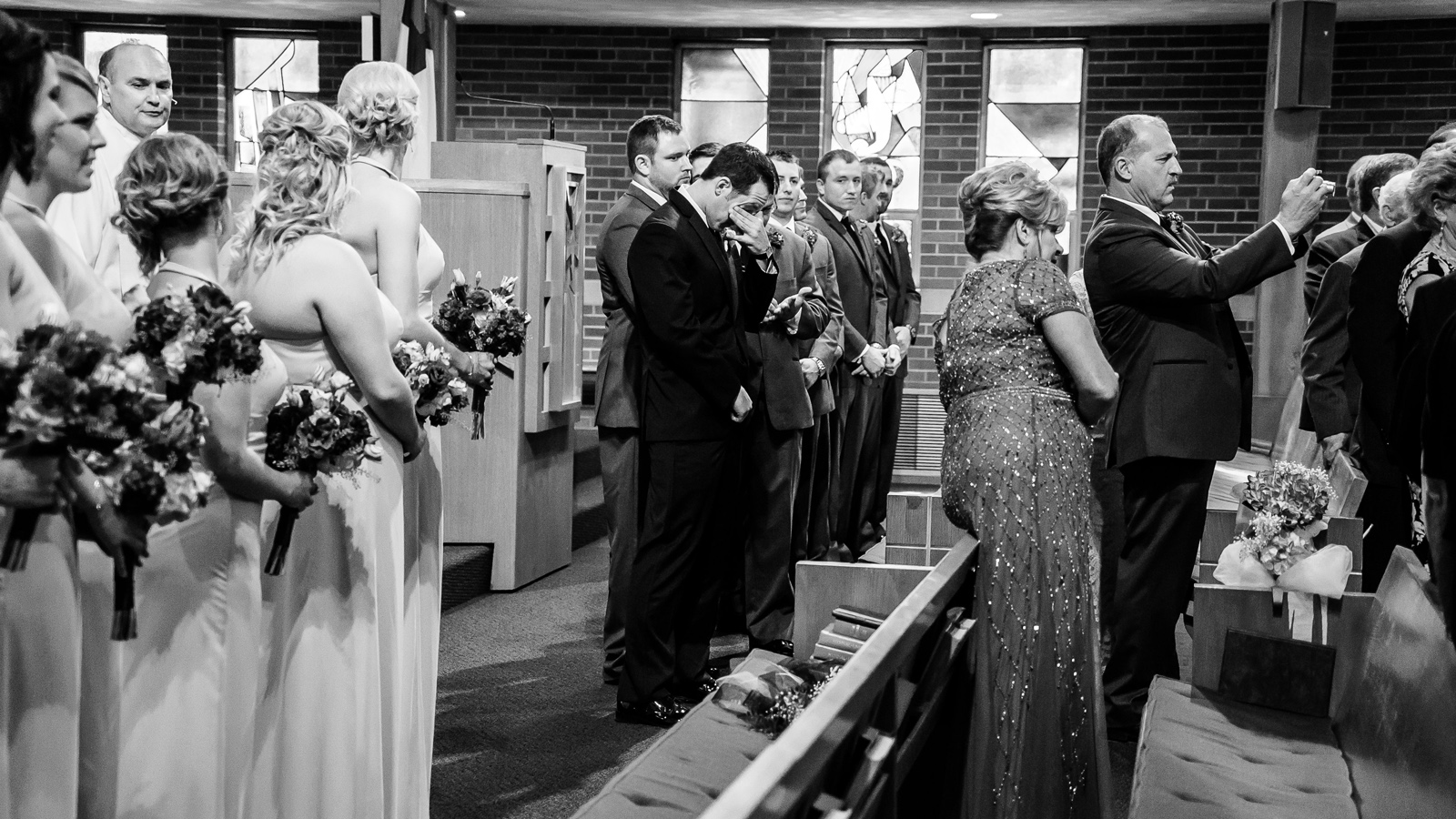 Millstadt Bride Wedding Photos at St. Paul United Church of Christ with St. Louis Wedding Photographers by Oldani Photography 1.jpg
