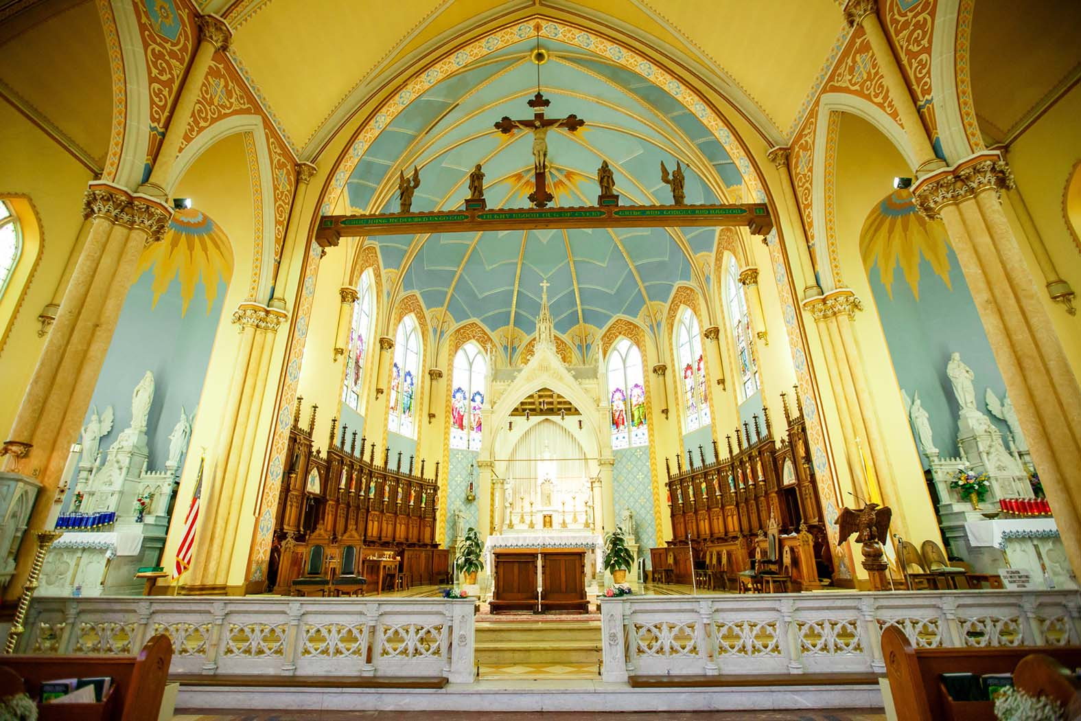 Ste. Genevieve Catholic Church / Heart of St. Charles / Old Town St. Charles by Oldani Photography