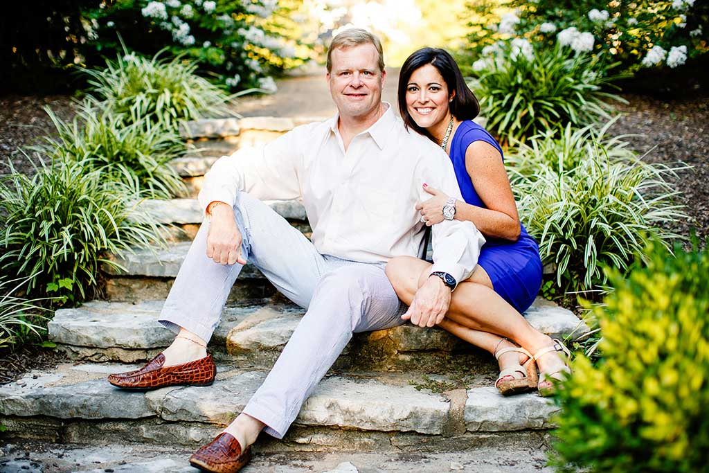 Clayton / Oak Knoll Park Engagement Photos by Oldani Photography St. Louis Wedding Photographers