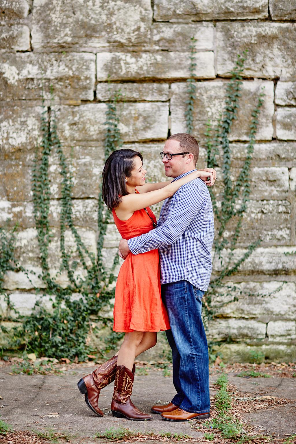 Lafayette Square Park Engagement Photos by Oldani Photography