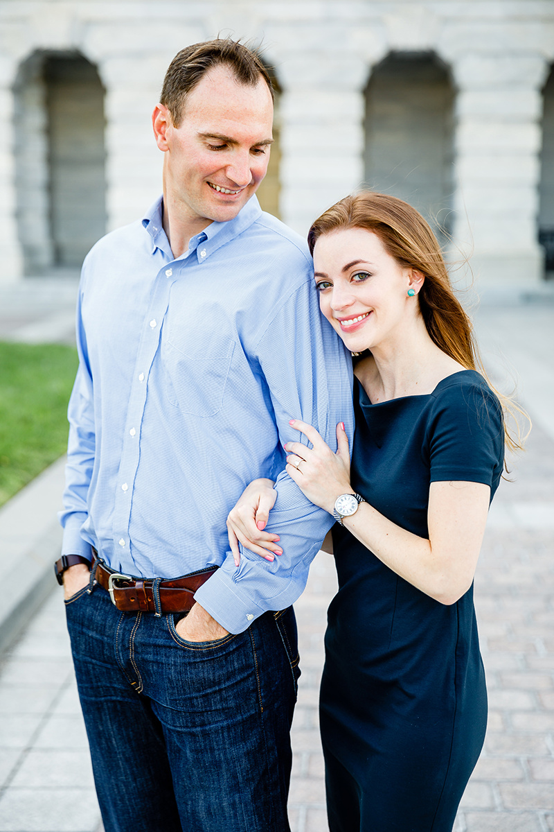Washington DC and Georgetown Engagement Photos by St Louis Wedding Photographers and Videographers Oldani Photography 2.jpg