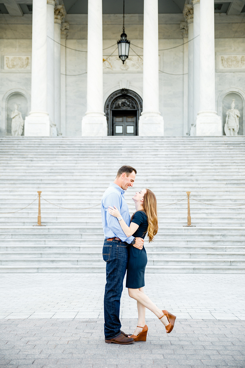 Washington DC and Georgetown Engagement Photos by St Louis Wedding Photographers and Videographers Oldani Photography 6.jpg