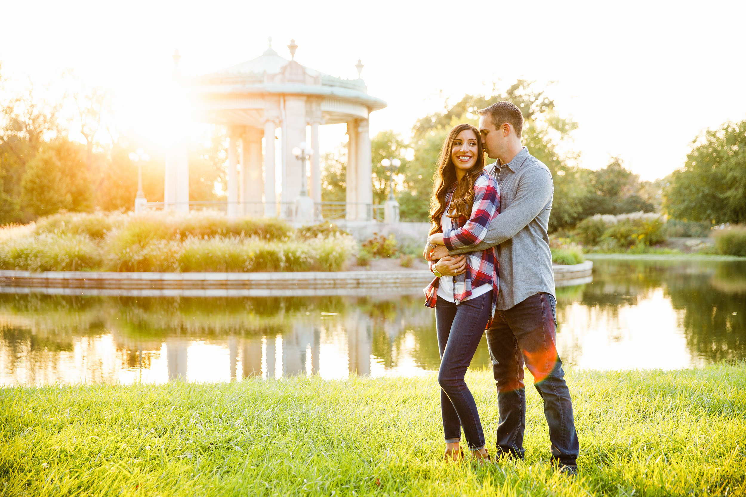 Forest Park Engagement Photos by St Louis Wedding Photographers and Videographers Oldani Photography 21.jpg