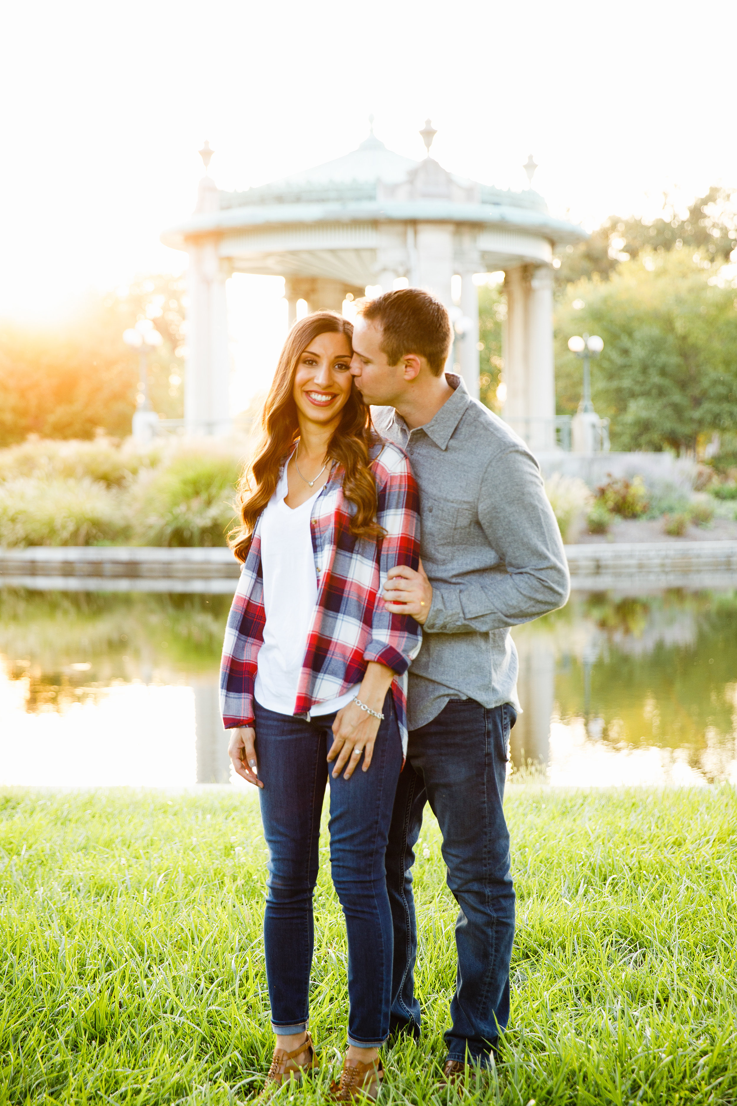 Forest Park Engagement Photos by St Louis Wedding Photographers and Videographers Oldani Photography 29.jpg