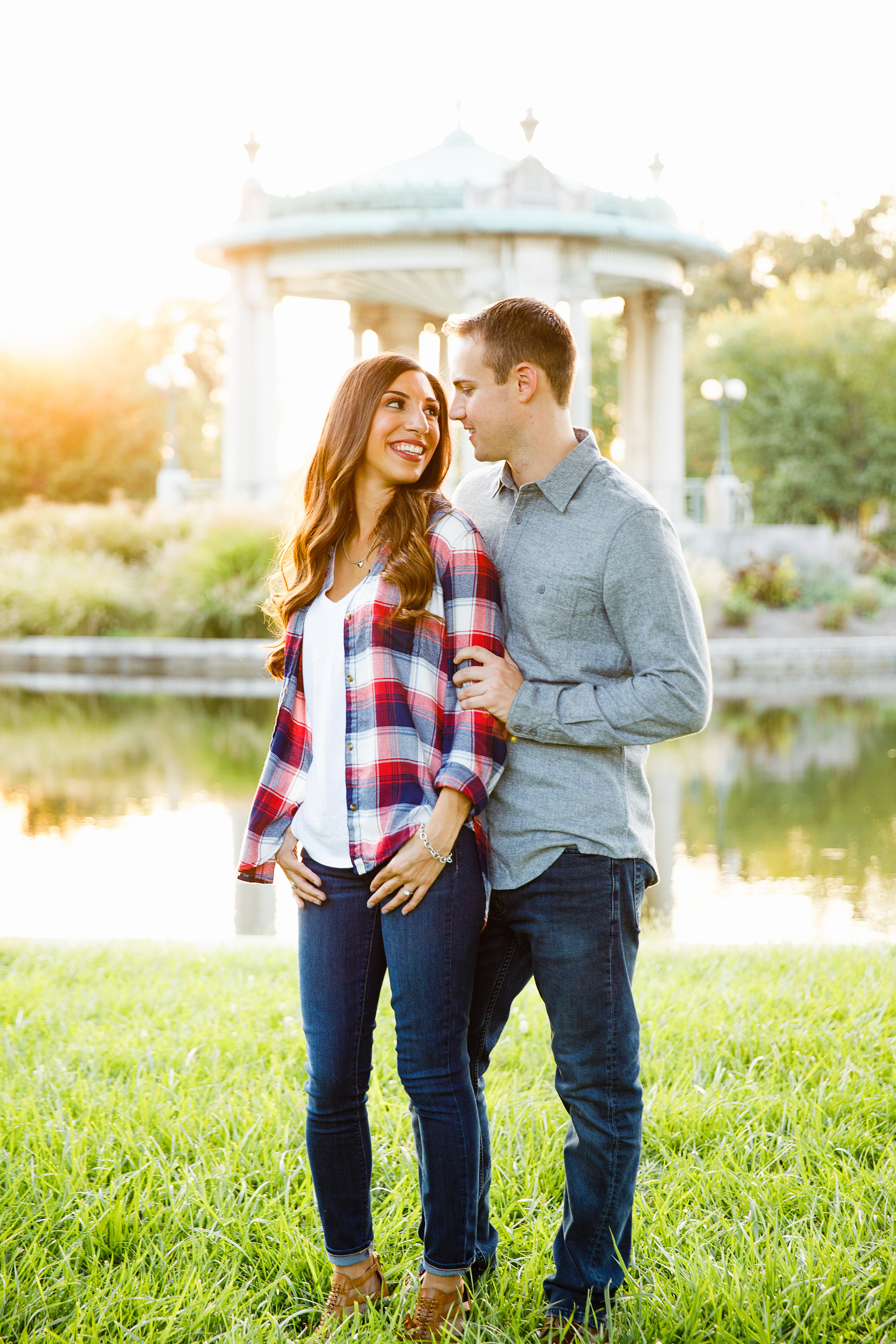 Forest Park Engagement Photos by St Louis Wedding Photographers and Videographers Oldani Photography 30.jpg