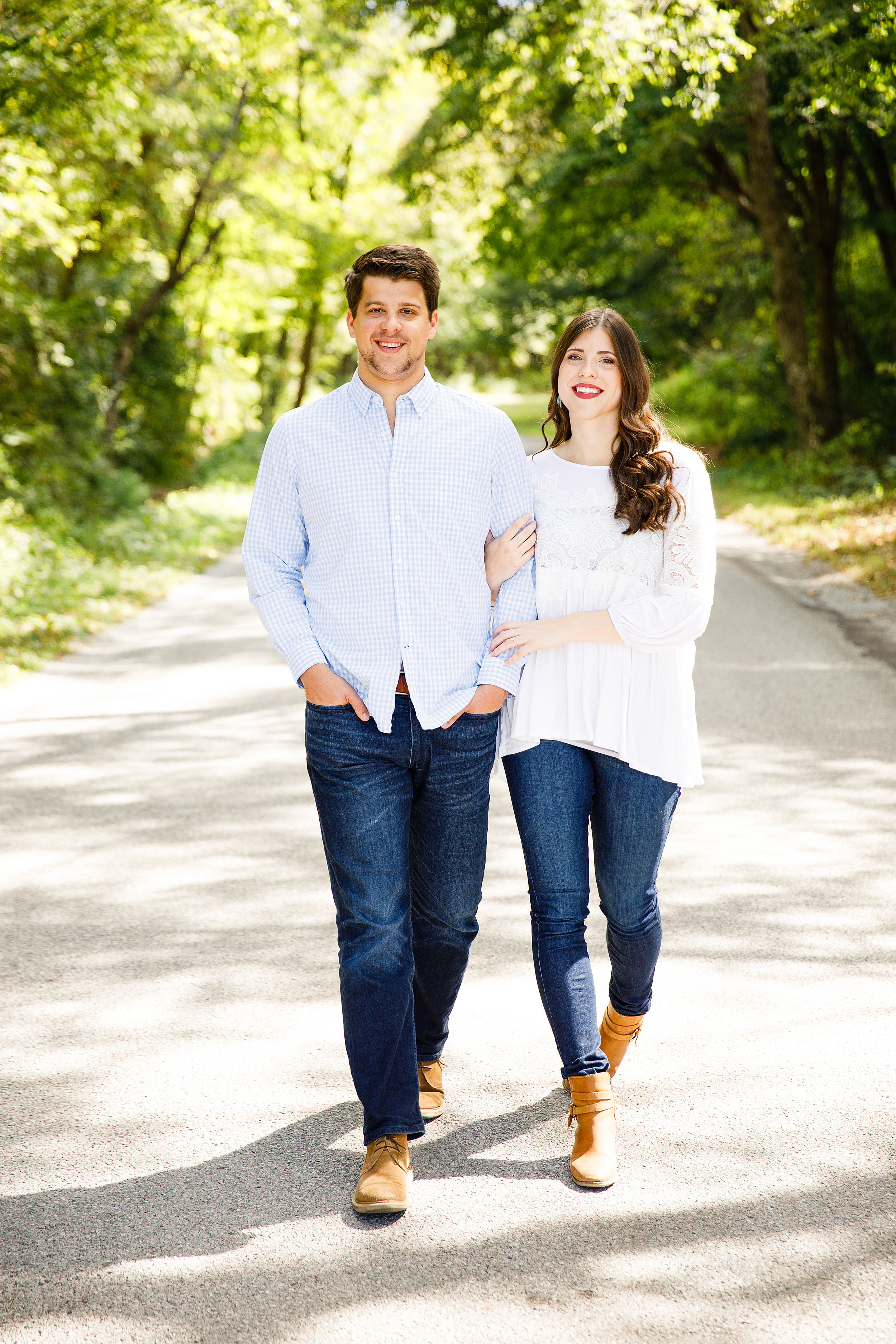 Old Baum Church and Valmeyer Engagement Photos by St Louis Wedding Photographers and Videographers Oldani Photography 0