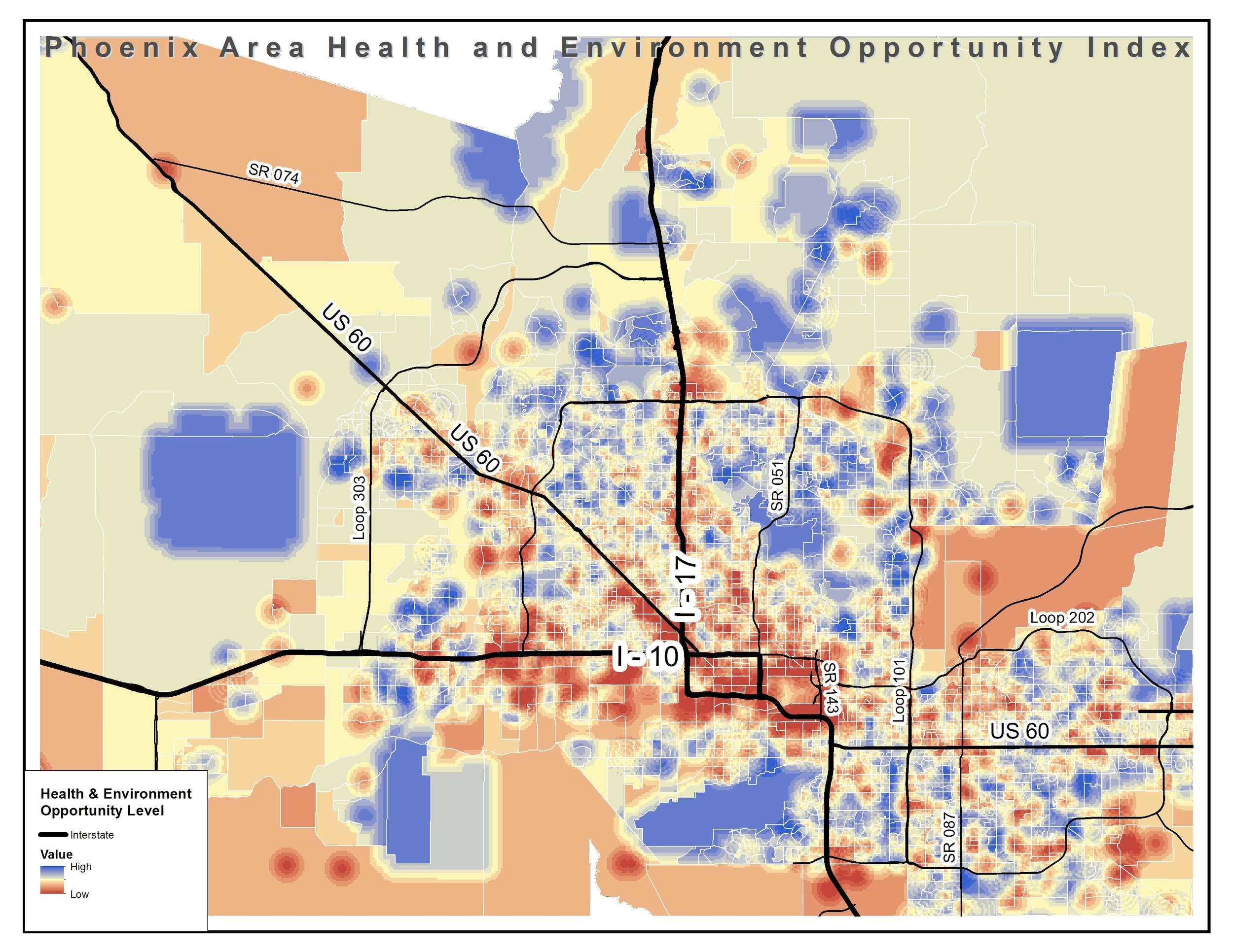 Map Of Loop 303 Arizona.Research And Reports Southwest Fair Housing Council