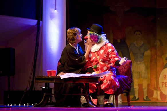 """Sally Nutt and David McCaleb in """"Wife of Bobbo,"""" by M. Lynda Robinson"""