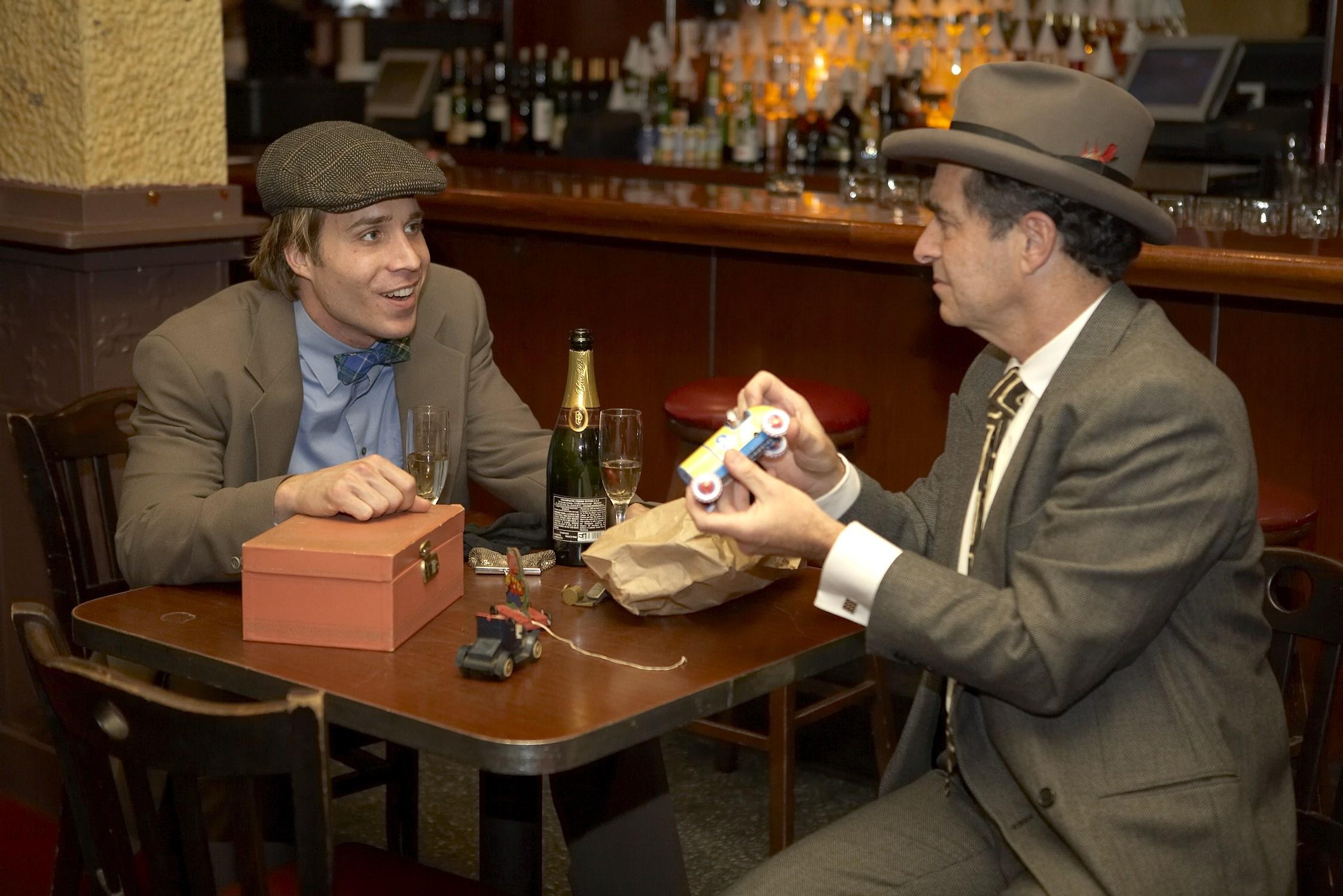 Casey Preston (Tom) (l) and  Robert D. Murphy (Joe)