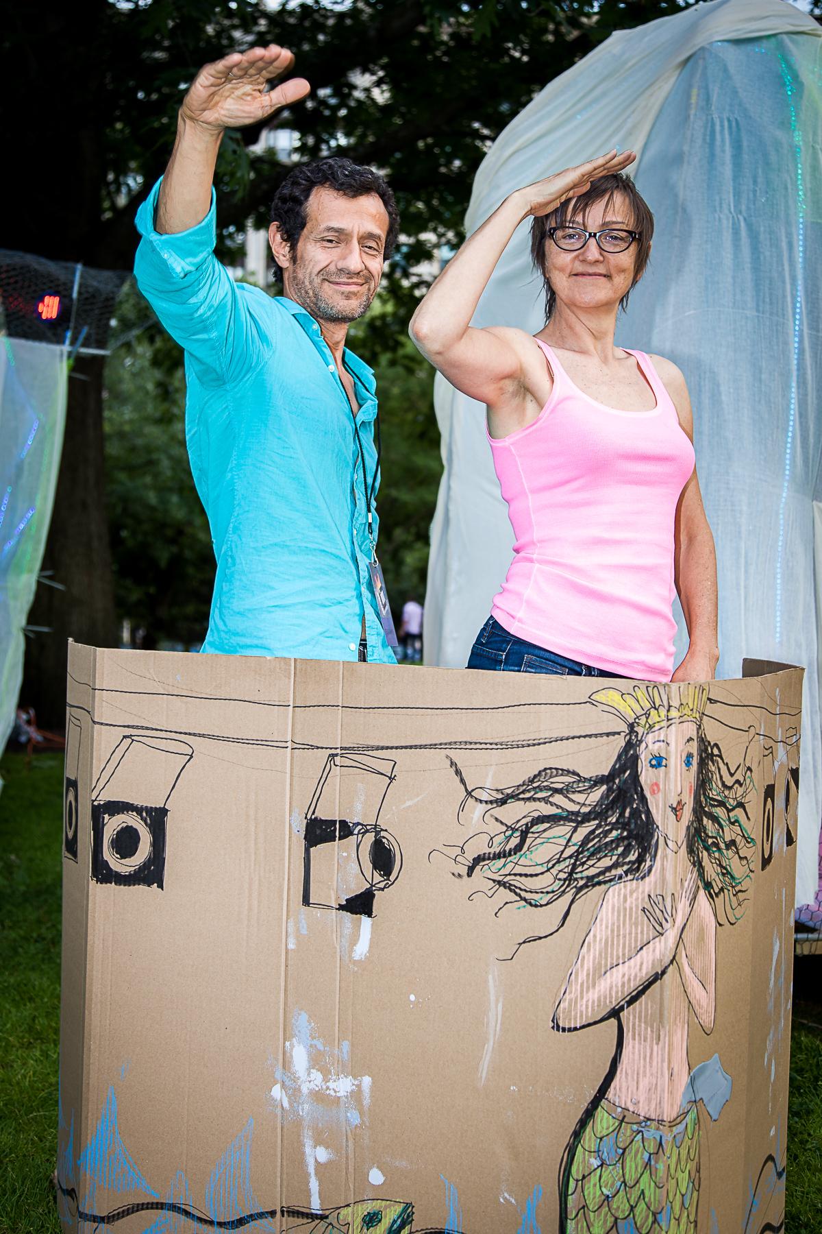 Mario Avila and Hana Pegrimkova, directors of  Billows