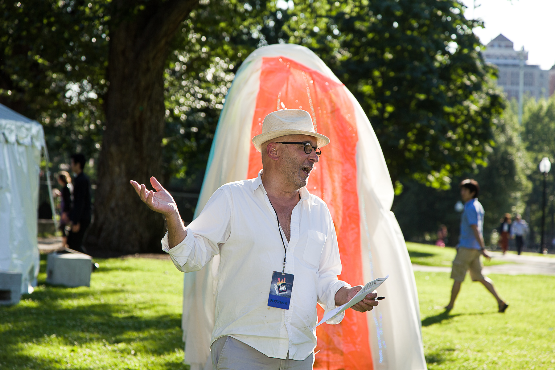 Inter-Actions  curator Rick Dorff