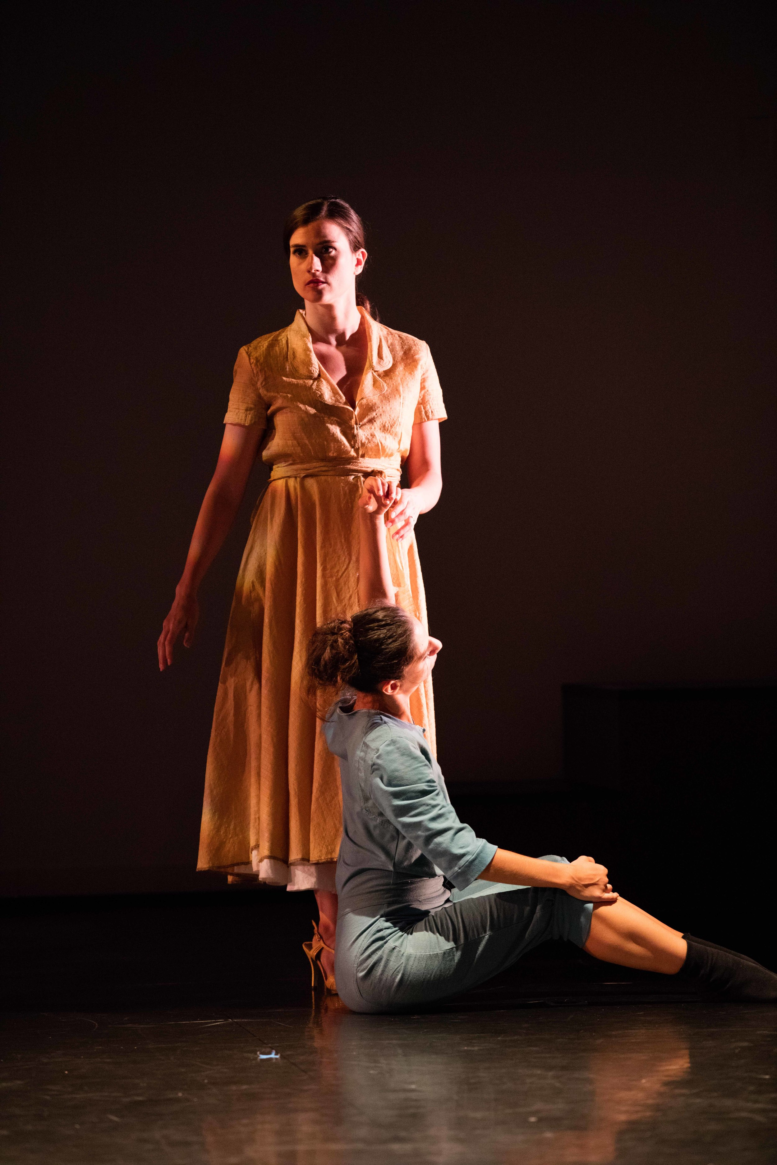 From the left: Anna Ward and Magdalena Gyftopoulos/photo by Daniel J. van Ackere