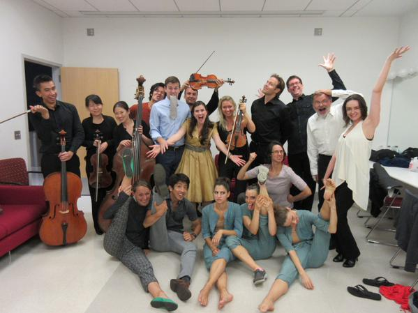 The cast and crew of  Jeanne /photo by Jason Barros