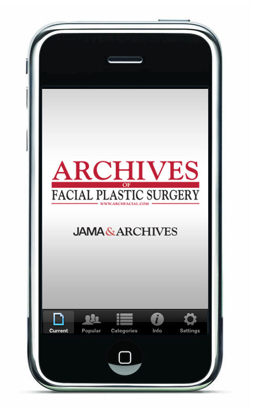 Dr. Sirius K. Yoo was published in the July 2012 issue of JAMA's Archives of Facial Plastic Surgery.