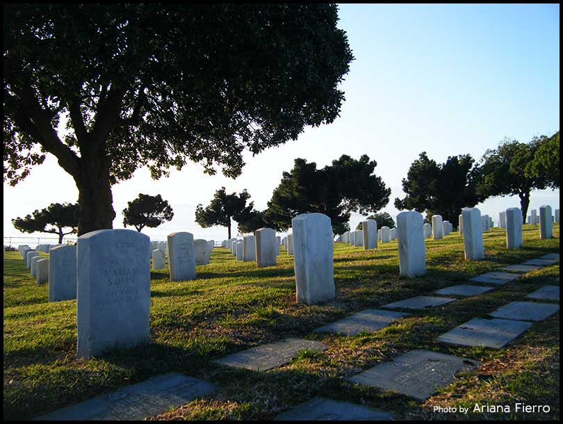 Fort Rosecrans National Cemetery in Point Loma
