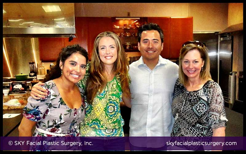 The SKY Team at Great News! Cooking Class in Pacific Beach, San Diego