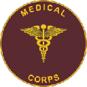 U.S. Medical Corps logo with Caduceus