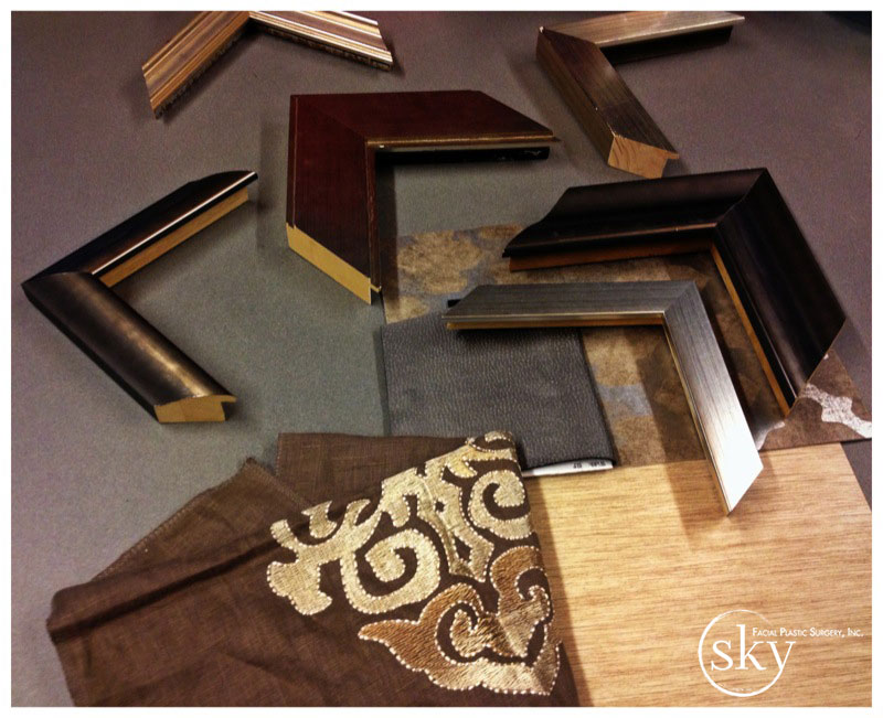 PHOTO: Frame styles to choose from.