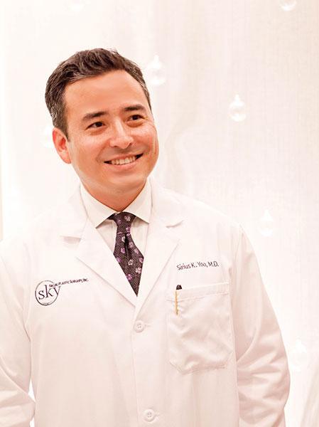 PHOTO: Sirius K. Yoo, MD, SKY's facial plastic surgeon.