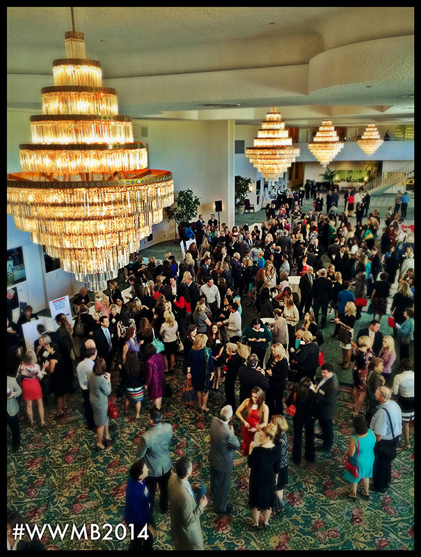 PHOTO: Networking time at San Diego Business Journal's Women Who Mean Business awards ceremony.