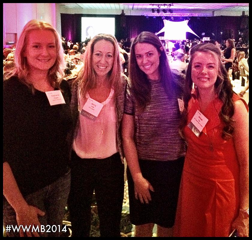 PHOTO: Stephanie Wygant, Jenny Levitz, Kelly Hinchman and Amber N. Yoo, M.B.A.