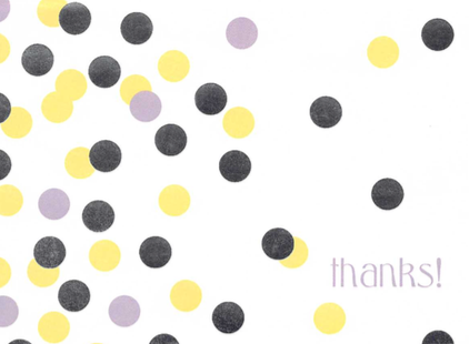 PHOTO: Playful thank you card from a patient.