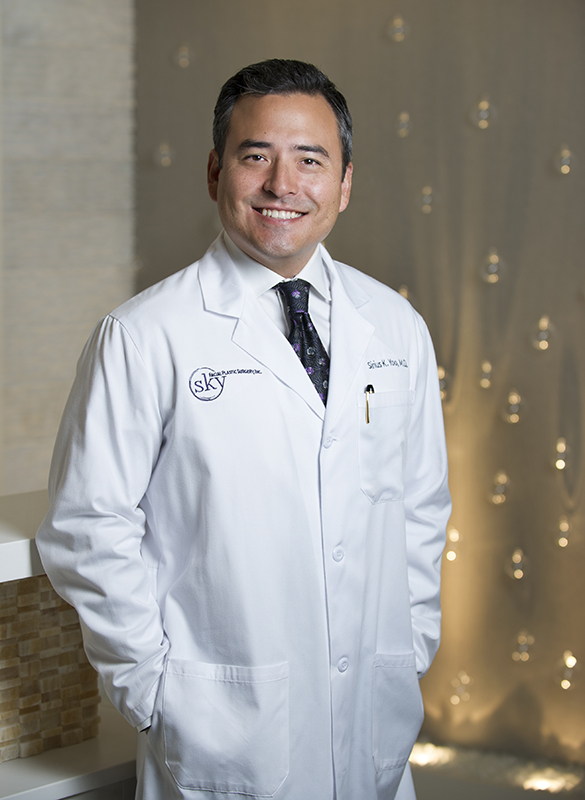 Sirius K. Yoo, M.D. - SKY's double-board-certified facial plastic surgeon.
