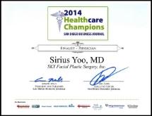 Healthcare Champion Finalist 2014