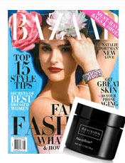 Nectifirm was featured in Bazaar as the choice skincare product for the neck.