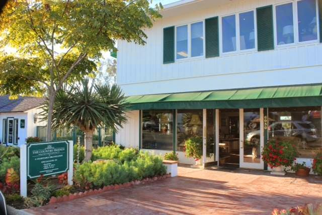 The Consignment Shop is located in Rancho Santa Fe, and is run by volunteers and members of The Country Friends.