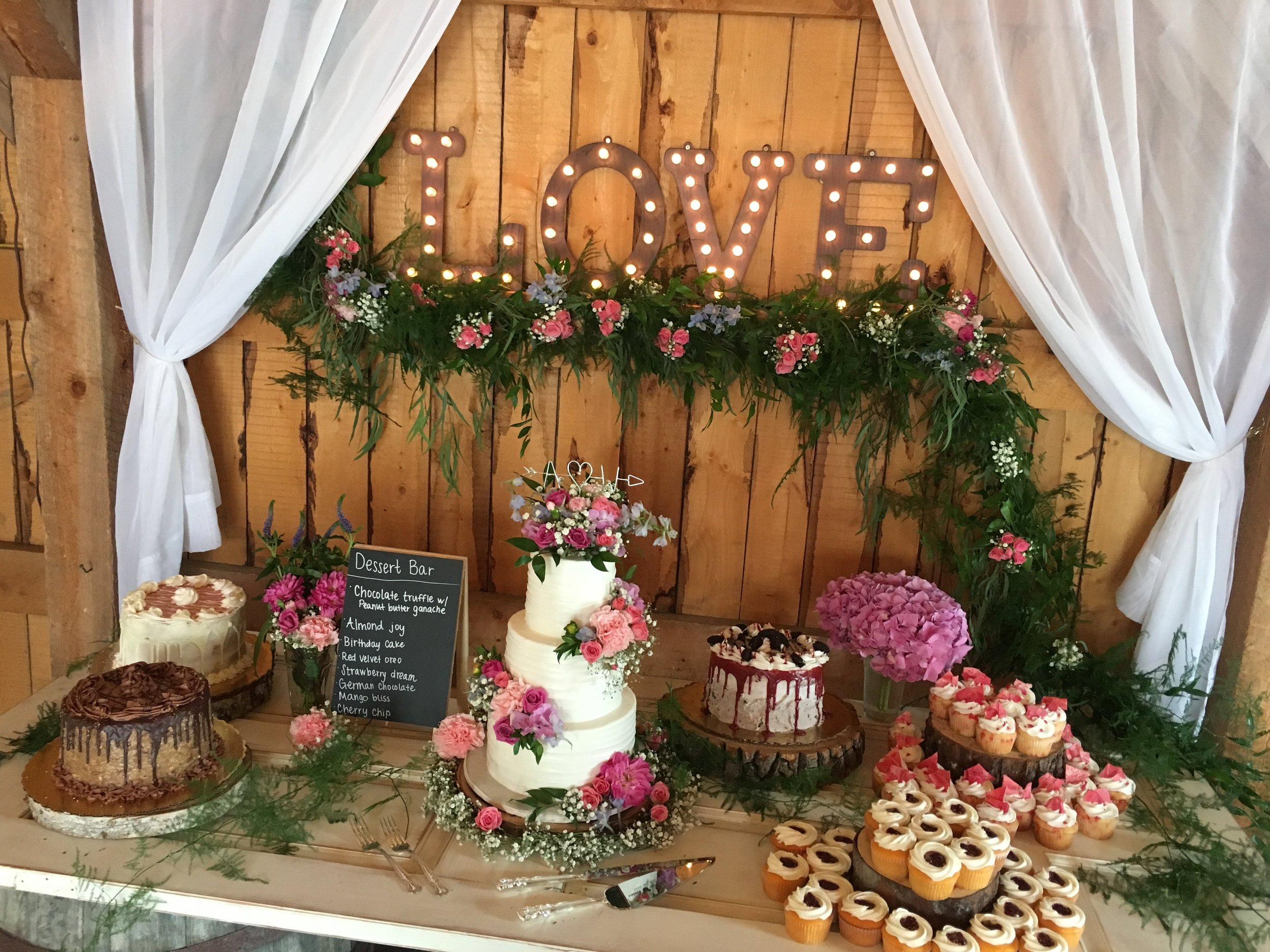 Featured in this picture is the Package #2 / Venue Gloryview Farm in Wasilla, AK