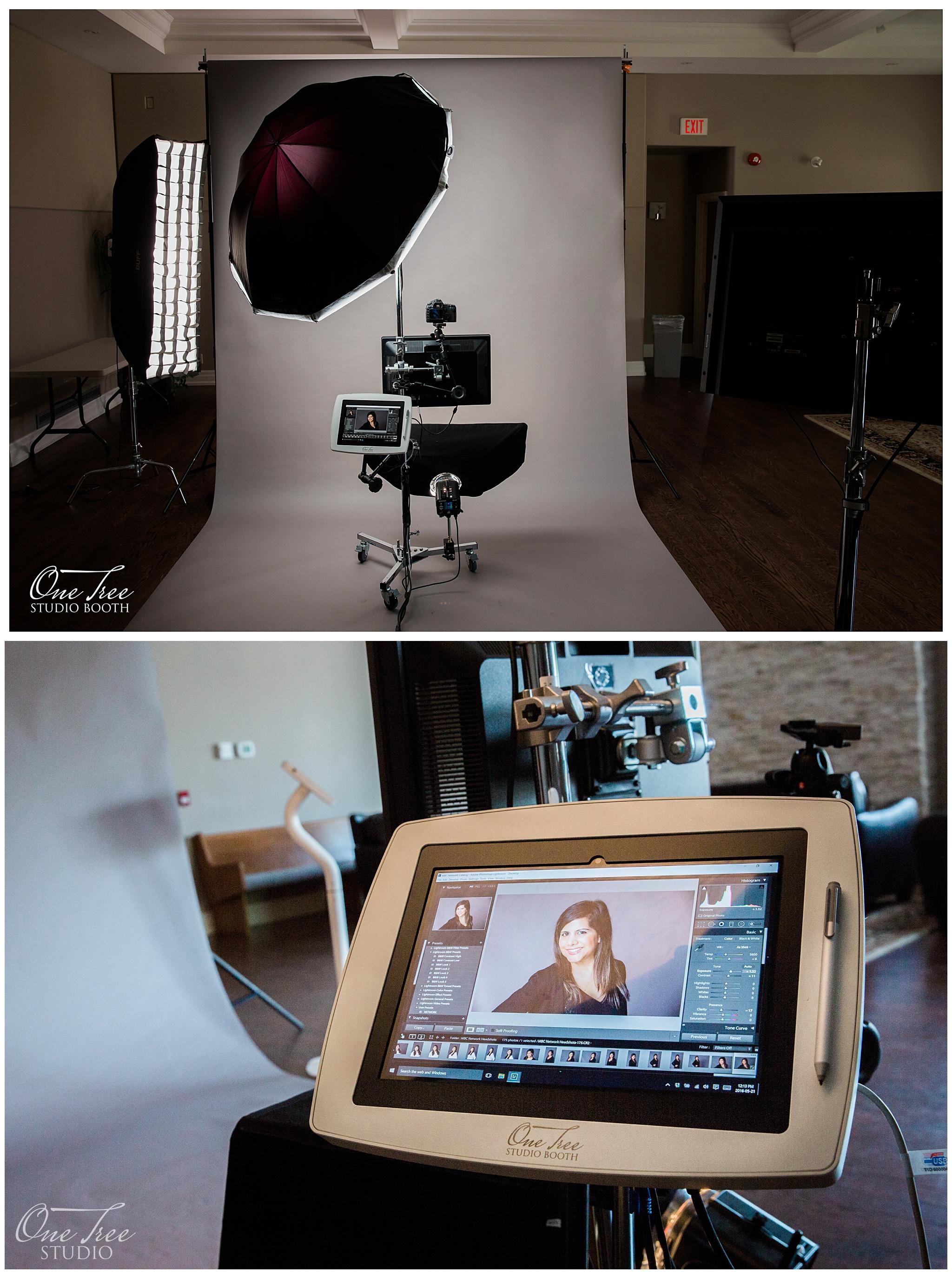 Headshot photo booth and mobile photography studio   Markham Toronto Niagara Region