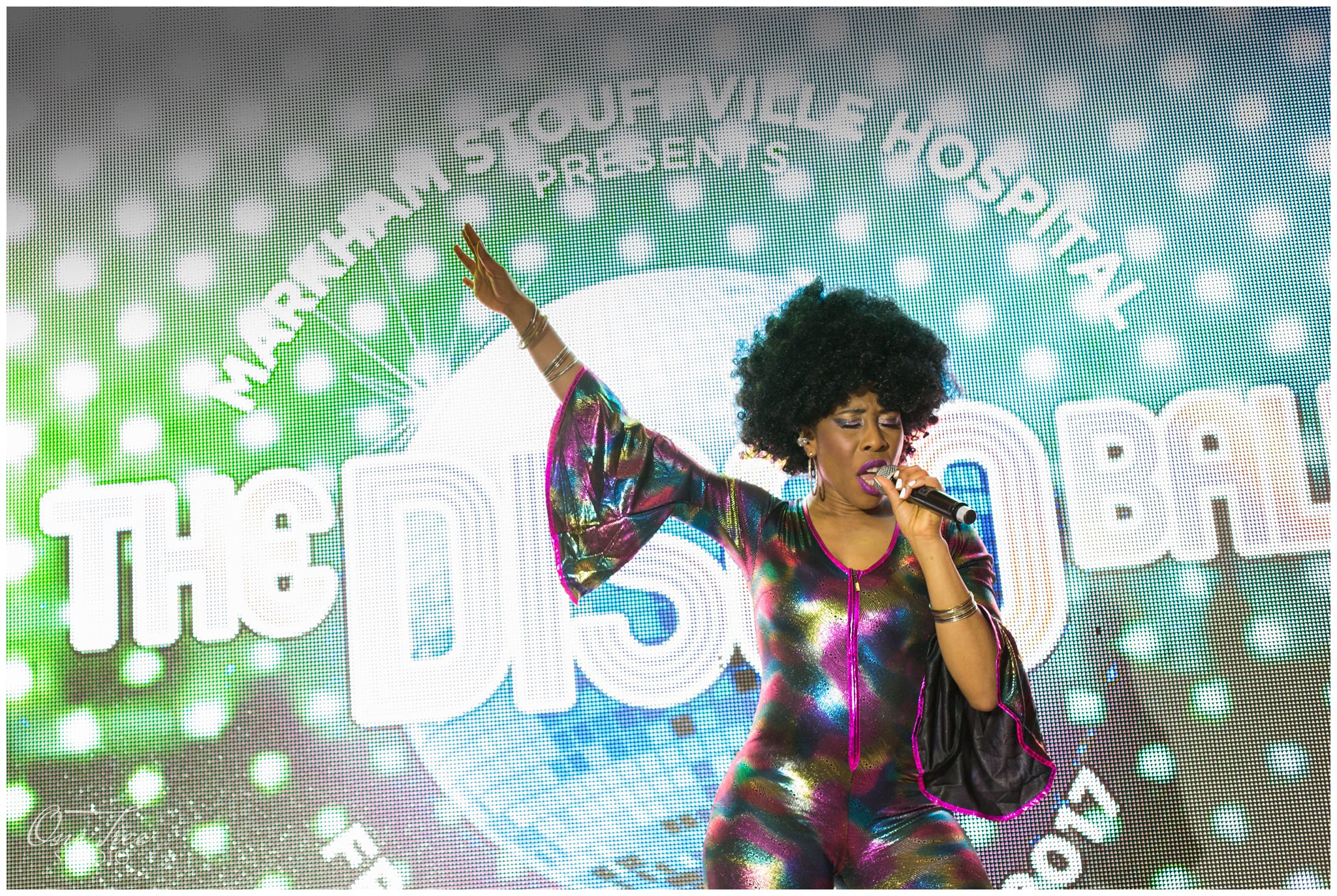 Markham Stouffville Hospital Disco Ball | Markham photographer | One Tree Studio