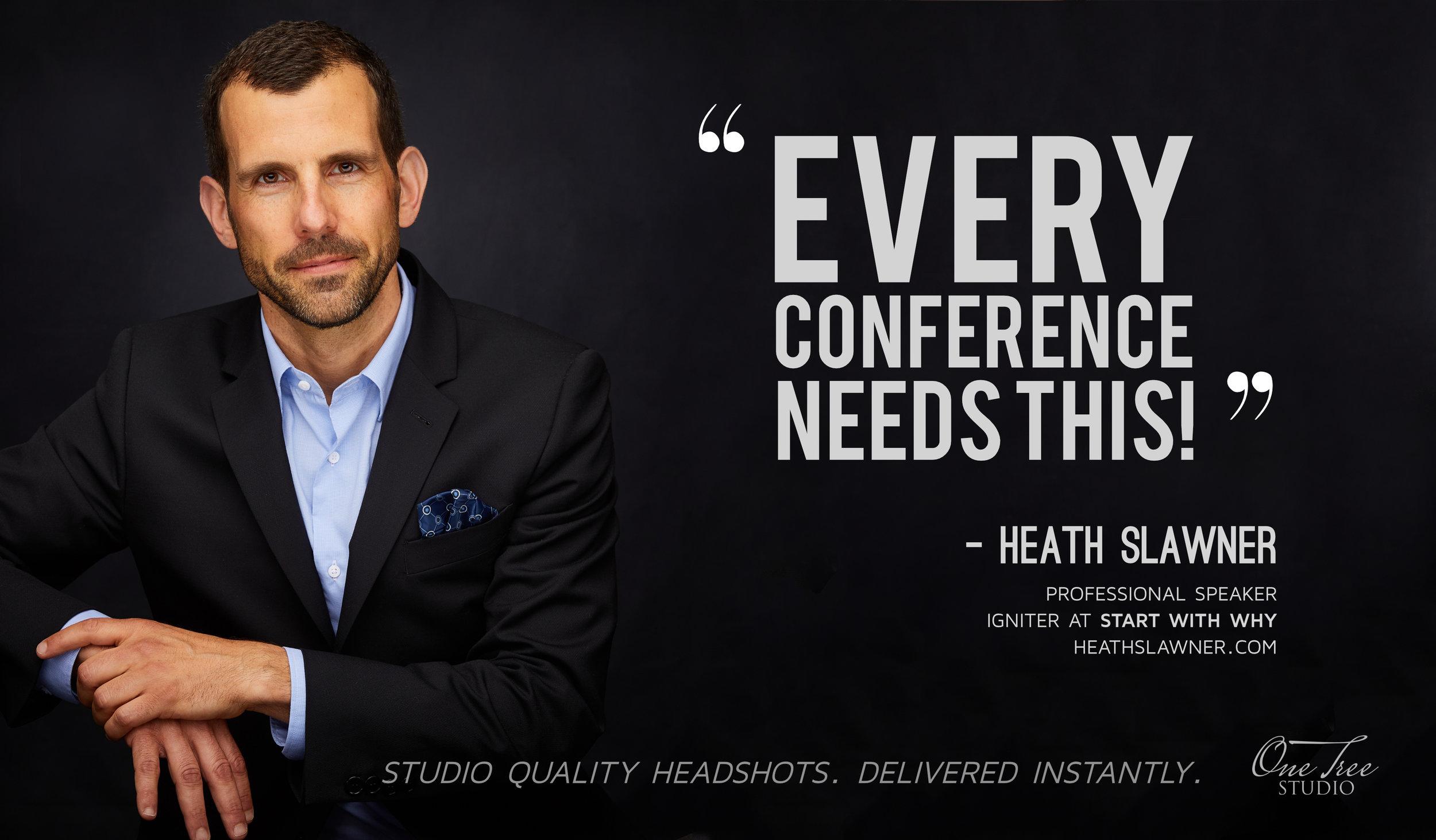 Conference Headshots Toronto