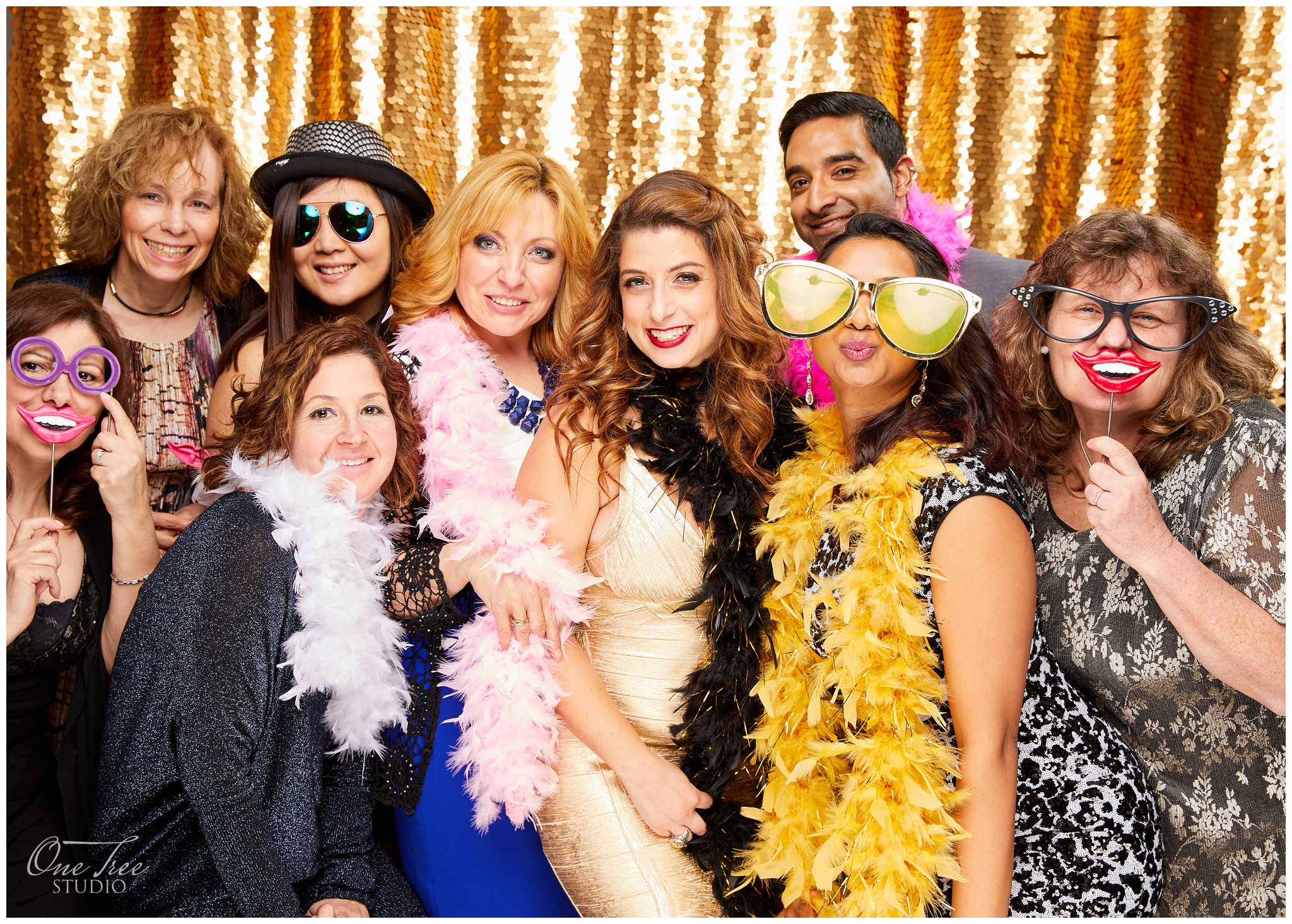 Event Portraits Photo Booth by Photographers | One Tree Studio