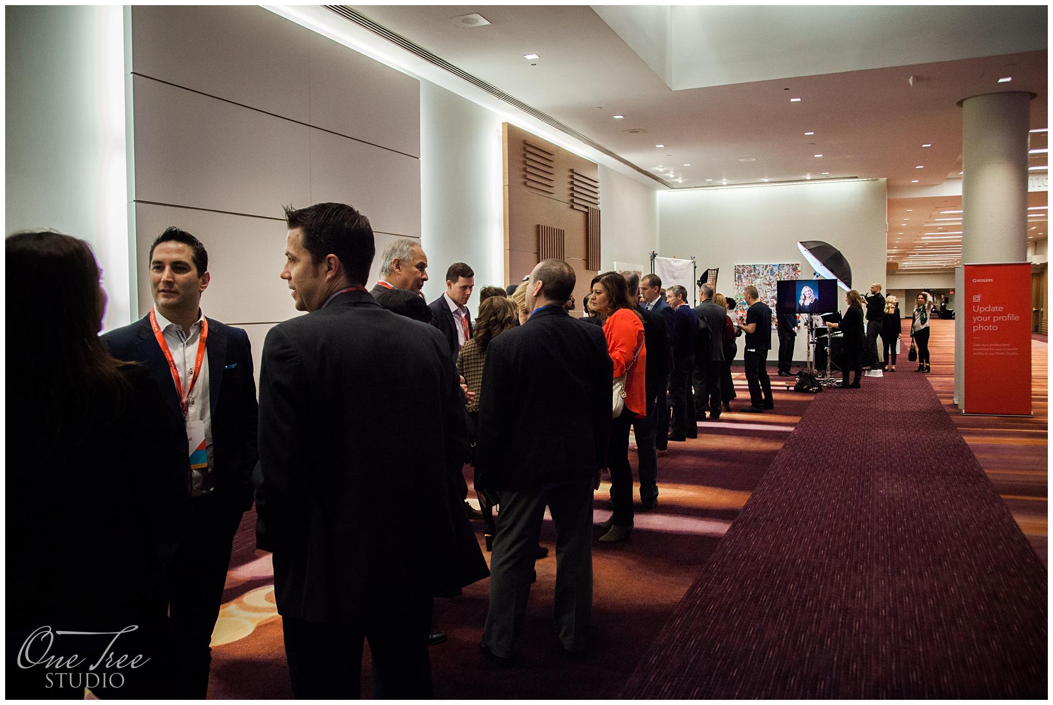 Conference Tradeshow Headshots