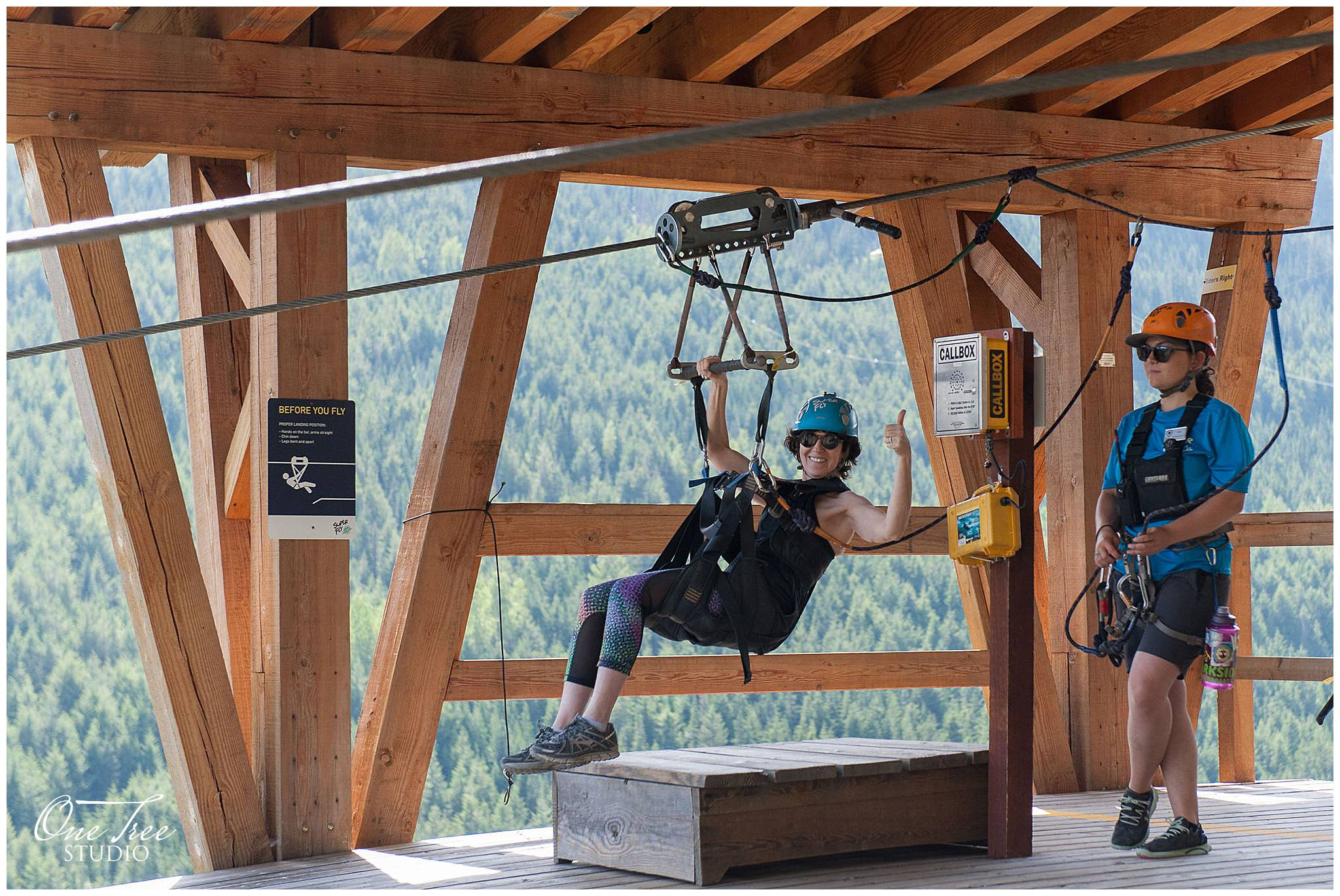 Whistler Ziplining Event Photographer