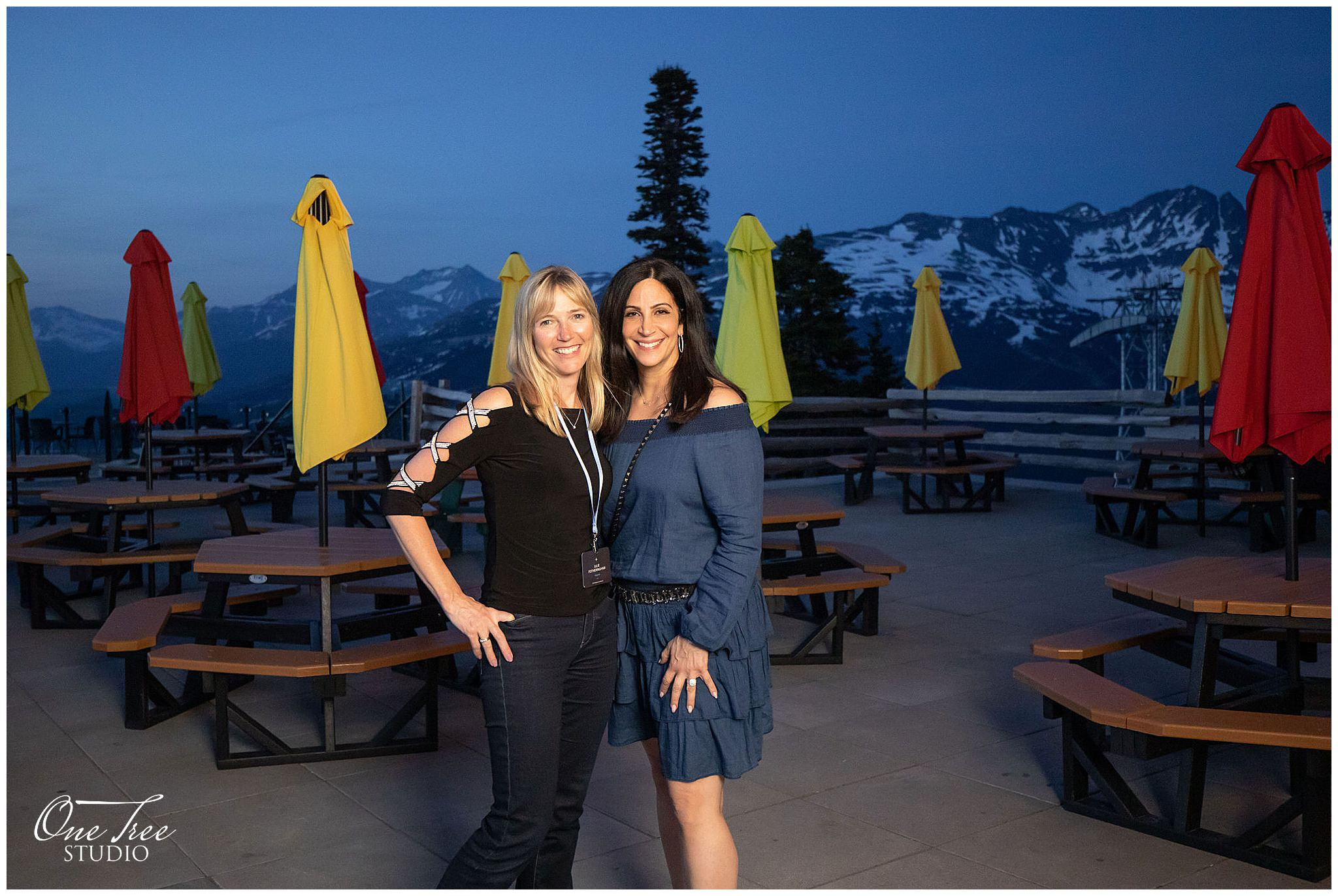 Hageman Events Team at Roundhouse Lodge Whistler