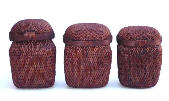 Vintage Chinese Fish Basket   8×6x13h +/-   OP075       Print Tearsheet