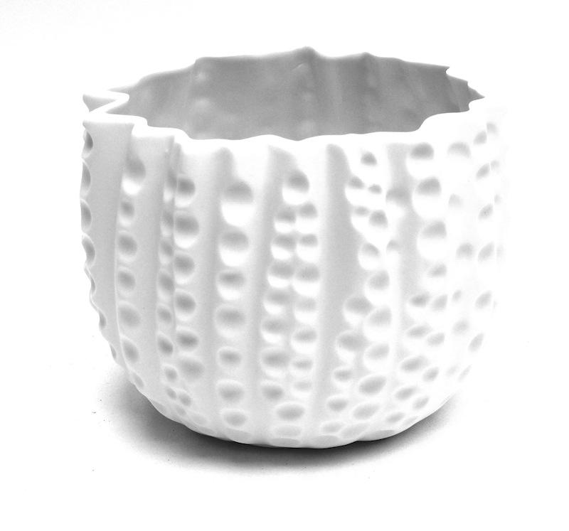 Porcelain Topus Vase   8 × 8h   BUPTP