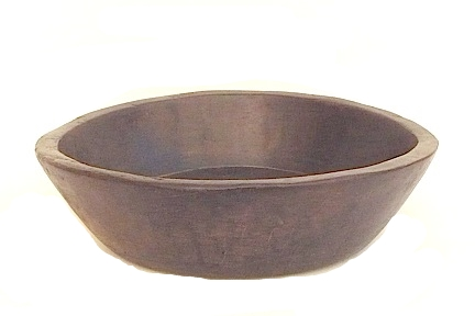 Parat,Wood Bowl, India   20dx5h +/-   DLSEM117
