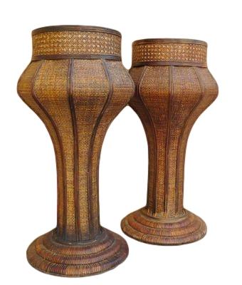 """Bamboo Pedestal 28.5""""h OP037"""