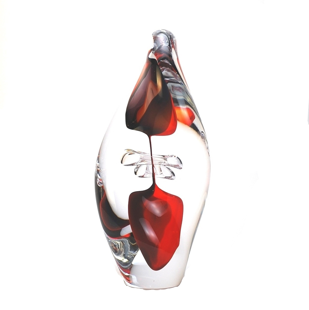 "Murano Glass Twist Sculpture Red/Black  5x5x9""h  MB25116  5x5x11""h  MB25114  6x6x12""h  MB25112"