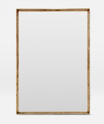 Todd Polished Brass Mirror 26×38  Also Available in Antique Silver MGTODD